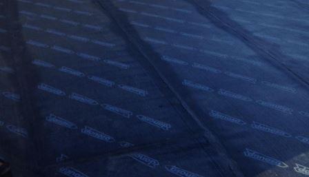 Colocación de lámina asfáltica terraza