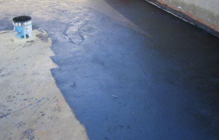 Imprimación lámina asfaltica