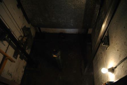 Inundación foso de ascensor