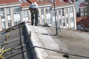 Lavado de tejado