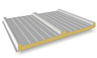 Tejados de panel sandwich fachadas tejados for Panel sandwich aluminio blanco