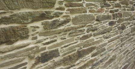 Rejuntado muro piedra