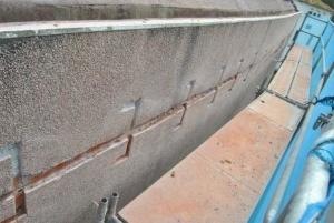 Reparación de grietas fachada