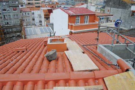 Tejado de teja Coruña