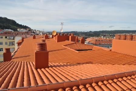 Tejado de teja Ferrol