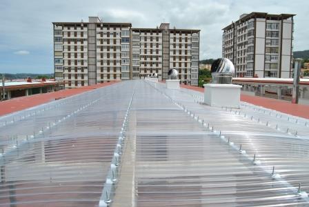 Tejado policarbonato fachadas tejados - Tejados de pvc ...