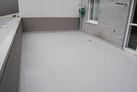 membrana de poliuretano terrazas